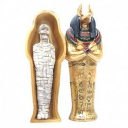 Sarcófago de Anubis con Momia mediano