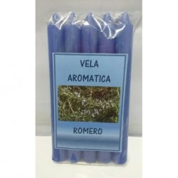 Vela Aromática Romero